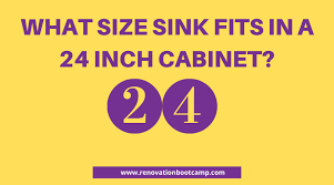 kitchen sink size for 24 inch cabinet what size sink fits in a 24 inch cabinet installation guide