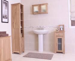 Oak Furniture Uk Modern Light Oak Bathroom Furniture Solid Oak Furniture At