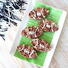 nutella rice krispie treats football shaped whitneybond com