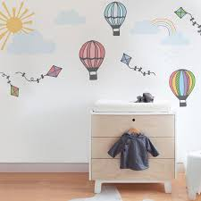 hot air balloon nursery decoration wall sticker pack vinyl hot air balloon wall sticker pack in by vinyl impression