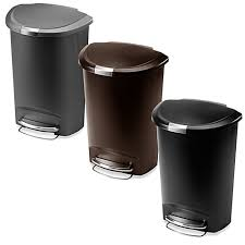 recycling trash cans for kitchen plastic stainless steel u0026 more