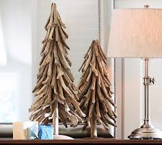 10 wooden trees with eco style
