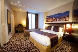 Triple Room Hotel Abbatial Saint Germain Charming Hotel In Paris - Family room paris hotel