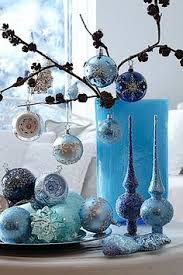 Christmas Decorations With Blue And Silver by Blue Christmas Blue Christmas Pinterest Blue Christmas
