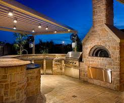 outdoor kitchen lighting ideas best lighting for outdoor kitchen designs 12 ideas design and