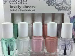 nail polish bridal 2015 mini collection lovely sheers