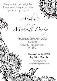 mehndi card wording henna party invitation design the curious londoner