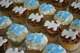 cupcakes para baby shower imagui