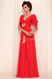 empire linie herzausschnitt bodenlang chiffon brautjungfernkleid p624 25 süße rote formale kleider ideen auf kurze rote