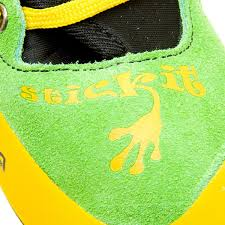 s sports boots nz la sportiva stickit lime yellow size 26 27 boys shoes sports