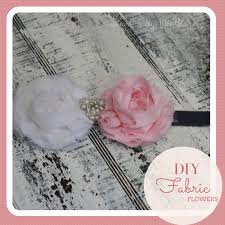 how to make baby headbands with flowers crafty diy fabric flowers for headbands