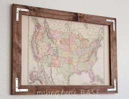 Photo Frame Ideas Best 25 Diy Frame Ideas On Pinterest Easy Frame Wood Frames