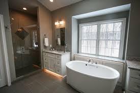 snowy woods an ann arbor master bathroom remodel