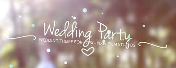 final cut pro x wedding themes wedding party