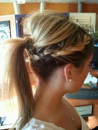 put up hair styles for thin hair best 25 bumped ponytail ideas on pinterest how to bump hair