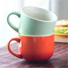 Cute Coffee Cups Gevalia Coffee Mug White Clay Cup Mug Coffee Creative Art Supplies