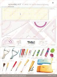 kearing brand 40cm arcylic triangle patchwork ruler metric scale
