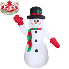 Extra Large Inflatable Christmas Decorations by Buy 2 4 Meters Giant Inflatable Christmas Snowman Christmas