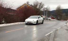 tesla model 3 spotted in norway and germany ahead of 2018 planned