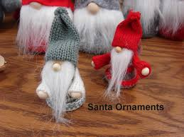 moose r us scandinavian gnome tomte felt ornaments santa