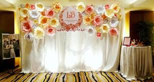 wedding decoration wedding decoration paper flower backdrop wedding for sale in