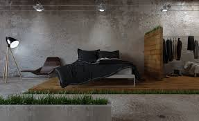 Concrete Block Homes Plans Glass Wall And Concrete Block Homes Design For Modern Minimalist