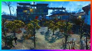 new furniture fallout 4 base building gameplay new furniture creating a farm