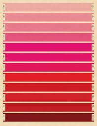 Cmyk Spectrum Litmus Red Cmyk Print Large Print Bars Pantone Index