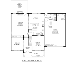houseplans biz house plan 2304 a the carver a house plan 2304 a the carver a 1st floor plan