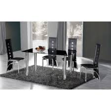 Small Black Dining Table And 4 Chairs Cheap Black Glass Dining Table 4 Chairs For Sale