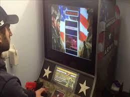 light gun arcade games for sale america s army mame light gun arcade machine with happ recoil guns