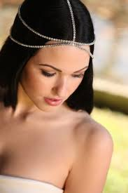 jewelled headdress 7 best jeweled headpieces images on wedding hair