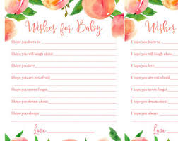 wishes for baby cards baby wish cards etsy