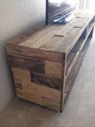 Pallet Console Table Diy Pallet Media Console Table Pallet Furniture Diy