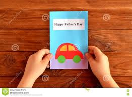 greeting card father u0027s day child holds a greeting card in his