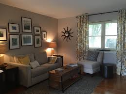 Parsons Mini Desk Pottery Barn by Sitting Room For A Client Henry Sofa Dove Gray West Elm Wall