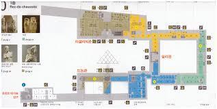 louvre floor plan 프랑스 파리 루브르 박물관 지도 louvre floor plan map 화 휴무