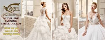 wedding dress creator course on bridal and evening dress designing nobel cert