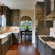 gray kitchen cabinets with black granite white cabinets with granite ideas photos houzz