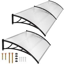 Exterior Door Rain Deflector by Front Door Canopies Ebay