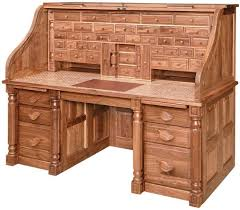 Roll Top Computer Desks President S Style Roll Top Desk From Dutchcrafters Amish Furniture