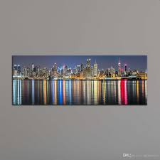 home decor dropship 2018 home decoration painting wall art prints of new york city night