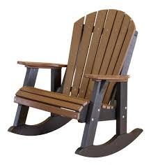 Cheap Outdoor Rocking Chairs Heritage Outdoor Fan Back Rocking Chair The Rocking Chair Company
