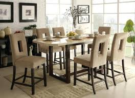solid wood dining room tables pub dining room furniture style sets with storage height set