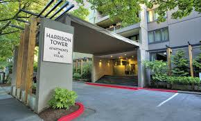 downtown portland or apartments for rent harrison tower