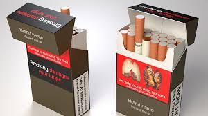 worlds ugliest color your cigarette packaging now comes in the world s ugliest colour