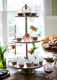 galvanized cake stand tiered metal dessert stand