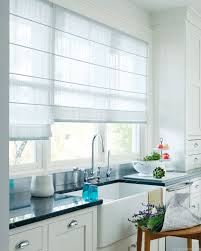 Kitchen Window Blinds by Kitchen Curtains Design Photos Types And Diy Advice
