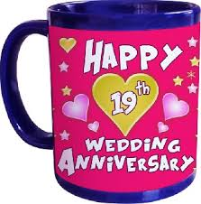 wedding anniversary gifts 19 year anniversary gifts just choose from our list