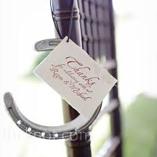horseshoe wedding favors horseshoe wedding favors